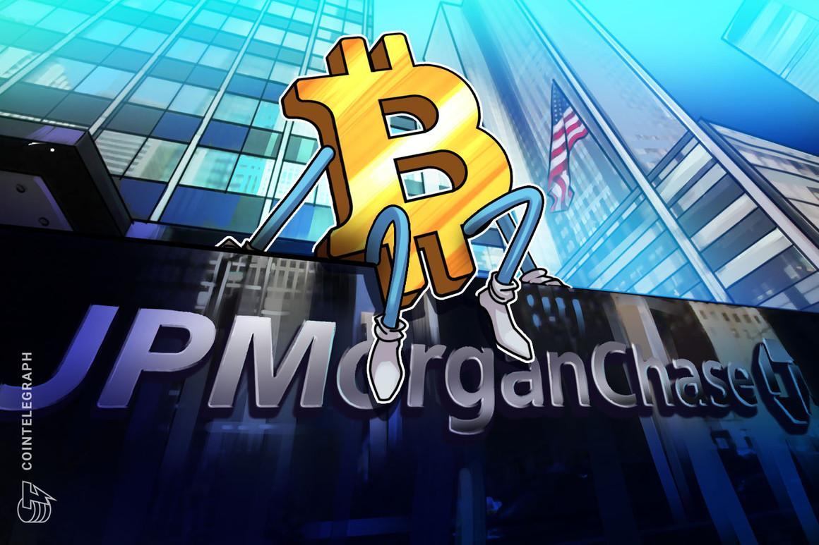 Un comunicado de JPMorgan a sus clientes avala la asignación del 1% a Bitcoin como cobertura