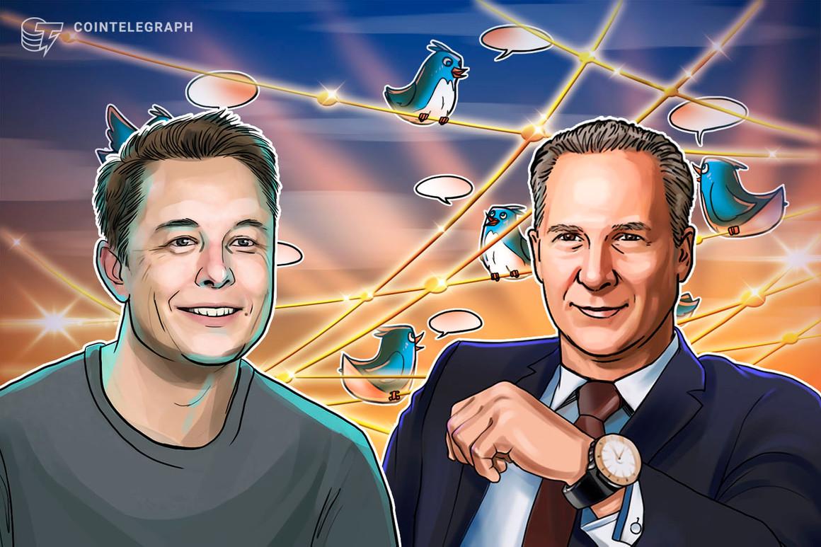 """Elon Musk dijo que los precios de Bitcoin y Ether están """"altos"""" mientras fastidiaba a Peter Schiff"""