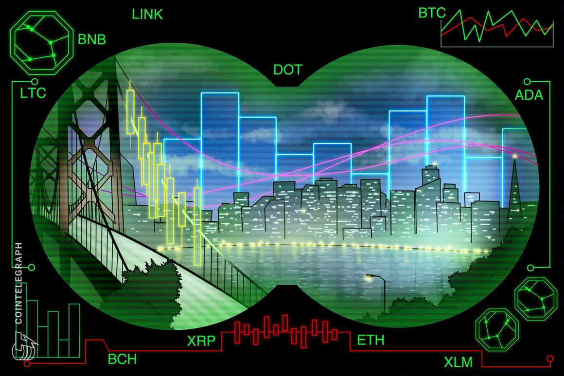 Análisis de precios del 24 de febrero: BTC, ETH, BNB, DOT, ADA, XRP, LTC, LINK, BCH, XLM
