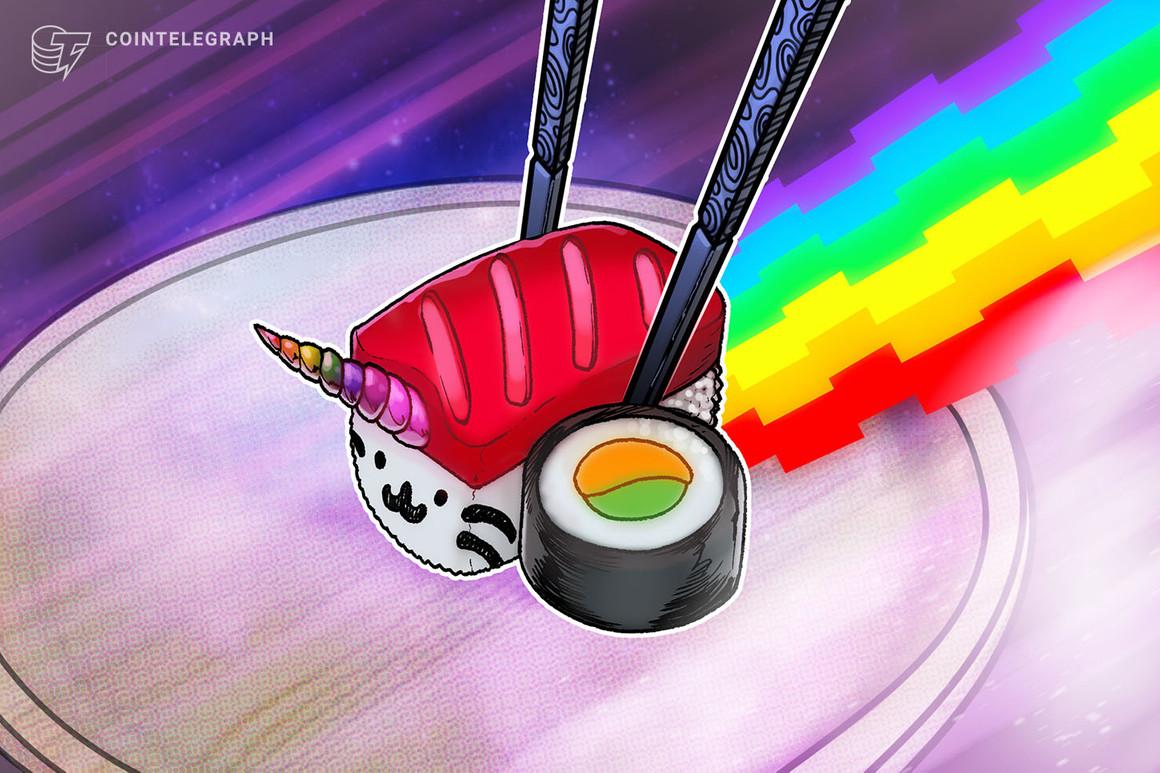 Con un cambio de imagen en el futuro cercano, Sushiswap recibe el dominio «Sushi.com» como regalo