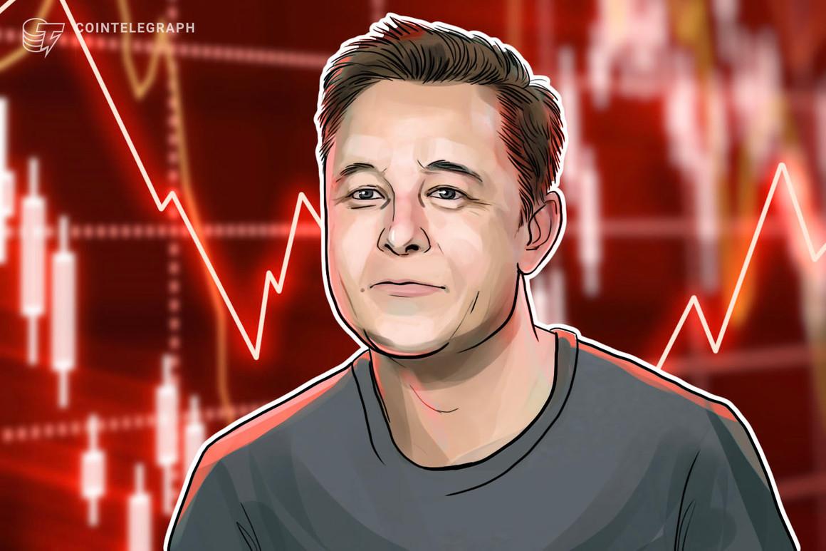 Musk deja de ser el hombre más rico del mundo tras la caída del precio de Bitcoin y las acciones de Tesla