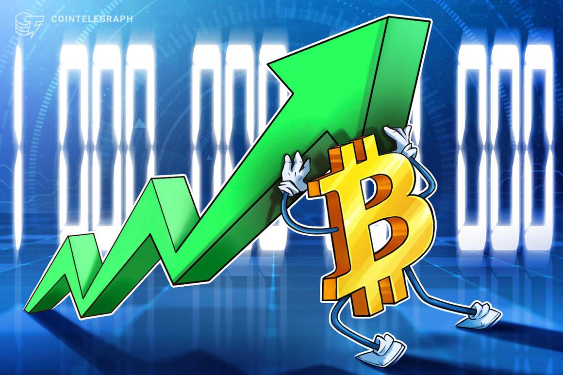 La capitalización de mercado de Bitcoin supera el billón de dólares tras triplicarse en tres meses