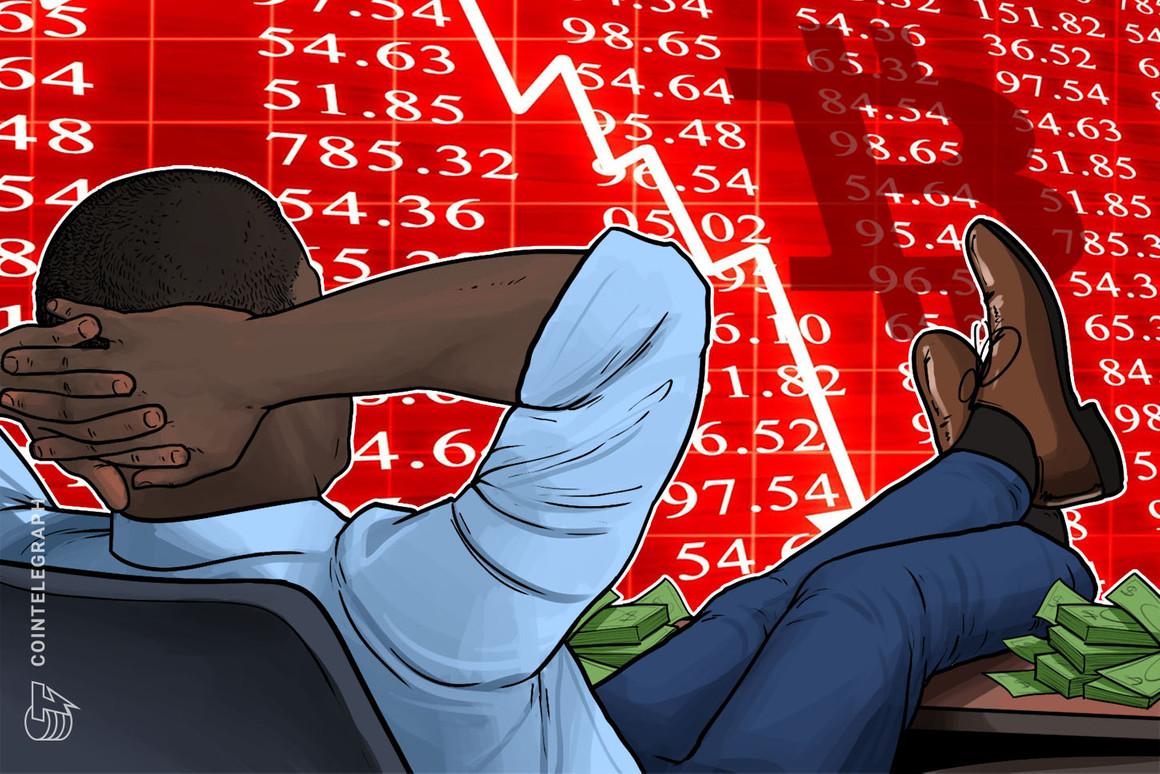 La ballena que vendió Bitcoin antes de la caída de 2020 vendió $156 millones antes de la caída del 20% de esta semana