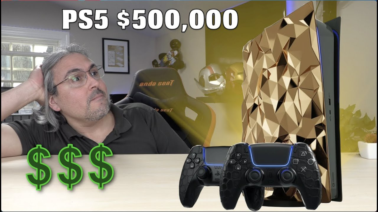 PS5 a $500,000 dólares