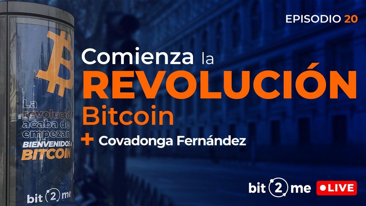 🔴 La Revolución BITCOIN acaba de empezar + REGALO 100€ – Bit2Me LIVE Ep. 20  con Covadonga Fernández