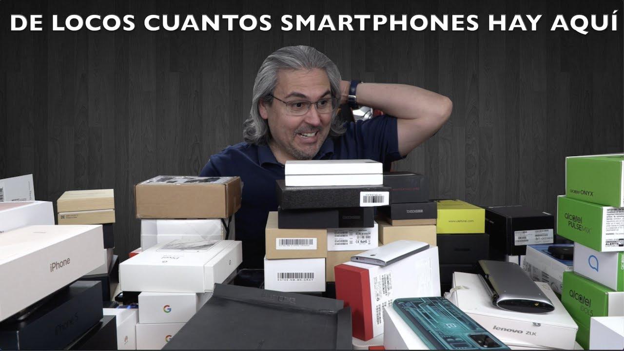 CUANTOS SMARTPHONES TIENE JOSETECNOFANATICO en el 2021? DE LOCOS!!