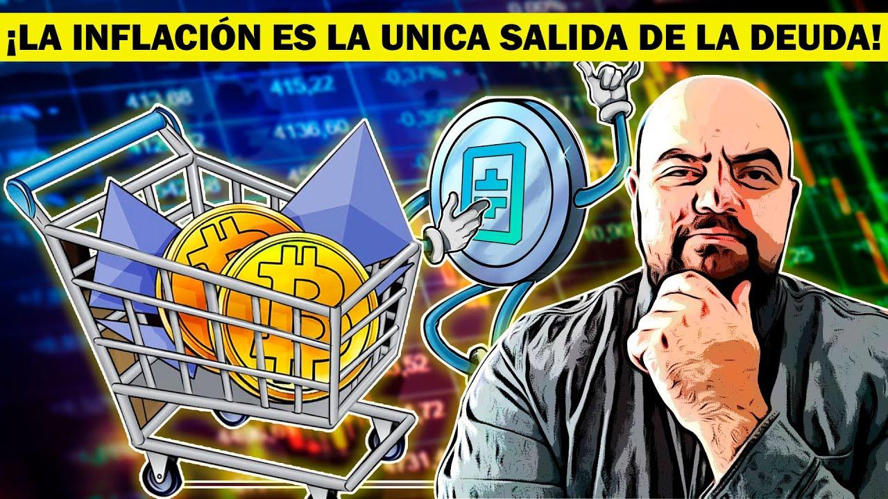 ¡POR ESTA RAZON BITCOIN PASARA LOS 50 MIL DOLARES! BANCOS SIN SALIDA Y COLAPSO MONETARIO INMINENTE