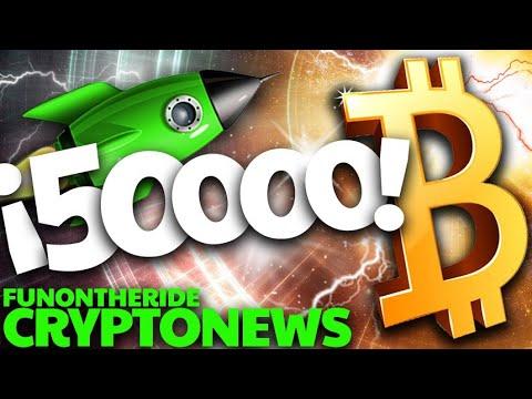 BITCOIN ¡50.000! 🟢 ¡NUEVO MÁXIMO! 🤑