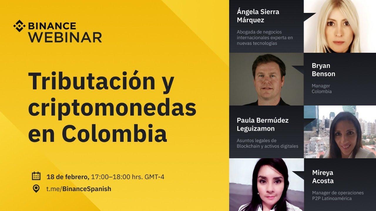 Tributación y criptomonedas en Colombia