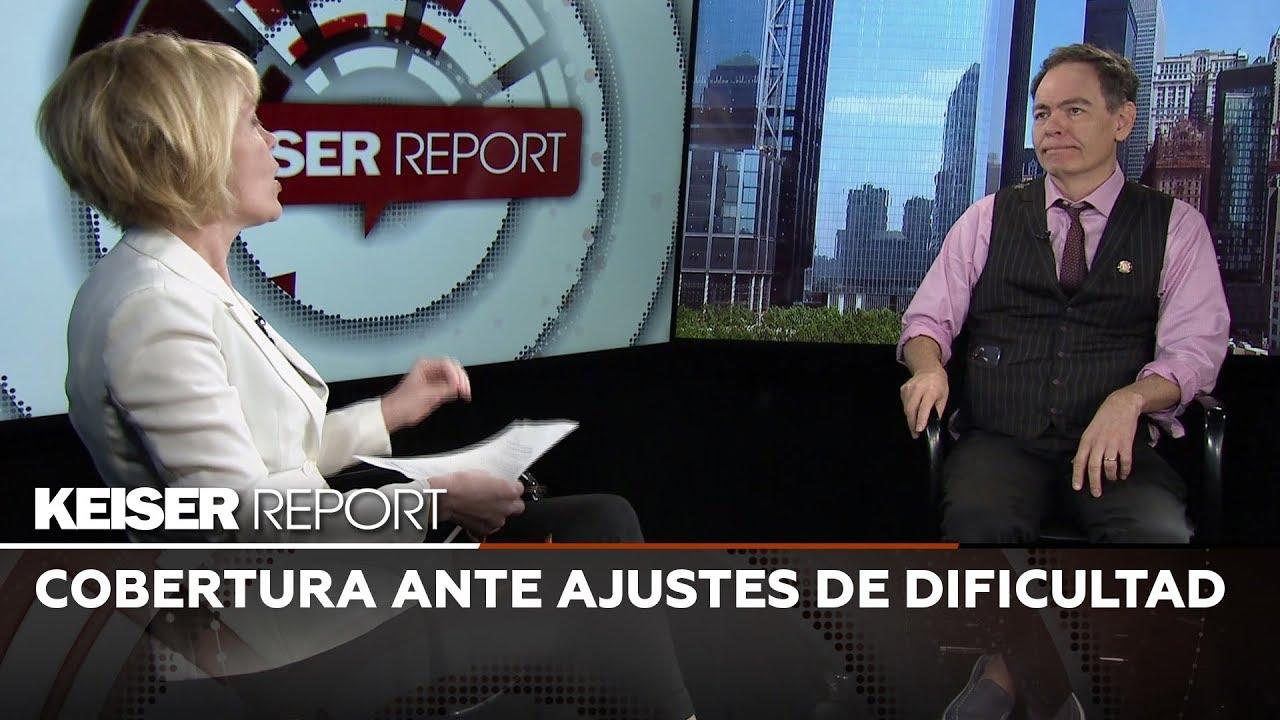 Keiser Report en Español: Cobertura ante ajustes de dificultad (E1387)