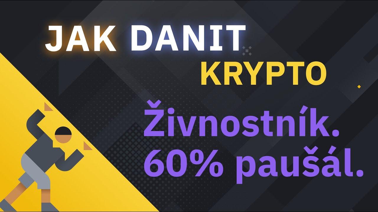 Kryptoměny a daně v Česku a na Slovensku. 60% paušál
