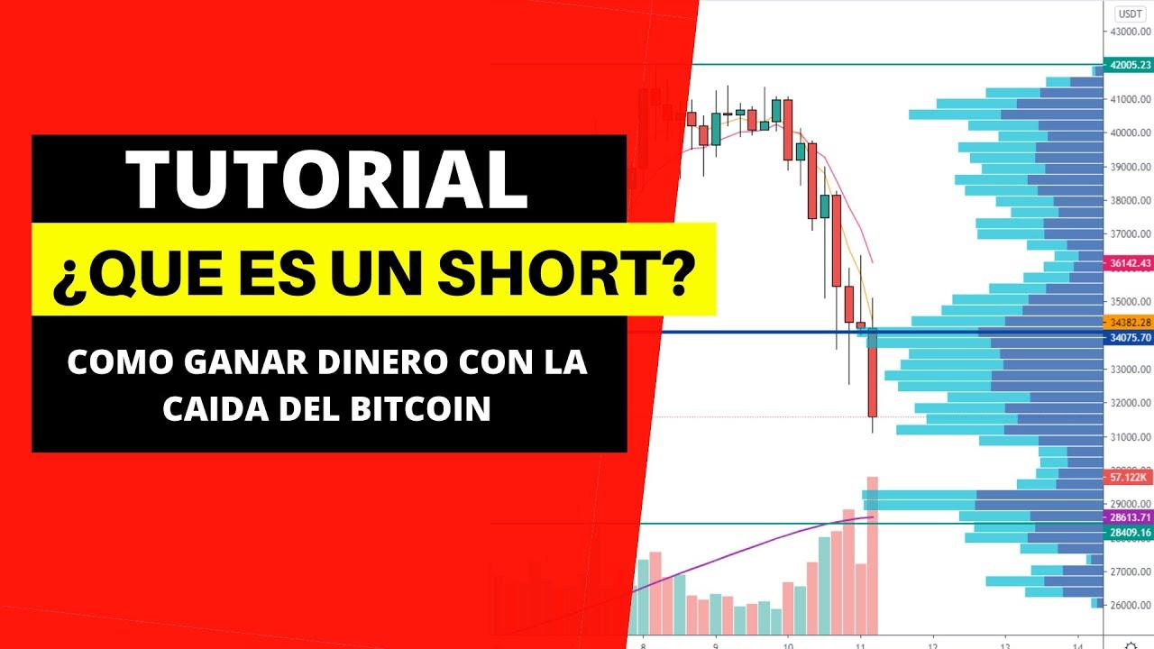 BITCOIN CAE DE PRECIO -¿ Como ganar dinero haciendo Short? [Semillero de ingresos]