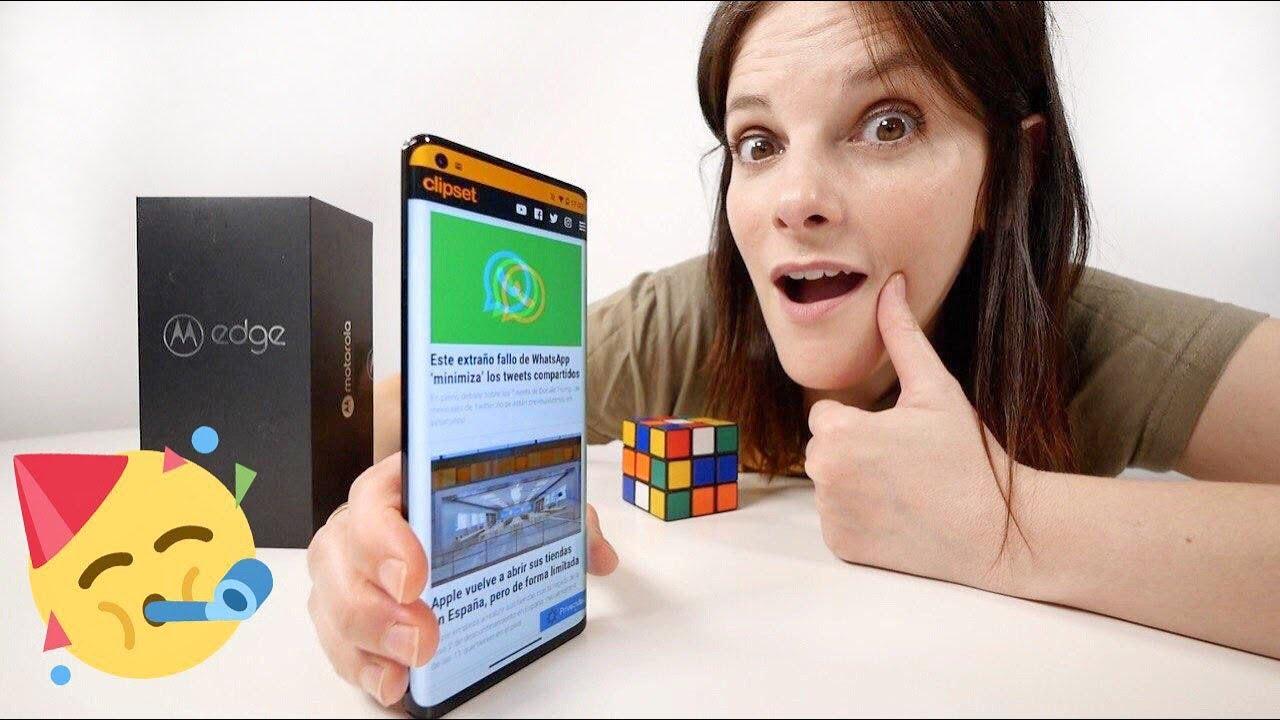 Motorola EDGE unboxing -¿estamos LOCOS o qué?