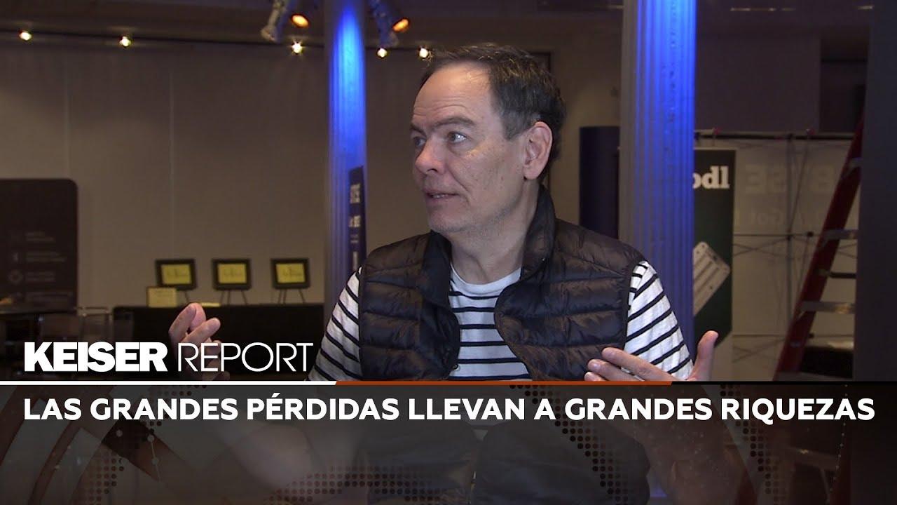 Keiser Report en Español:  Las grandes pérdidas llevan a grandes riquezas (E1384)
