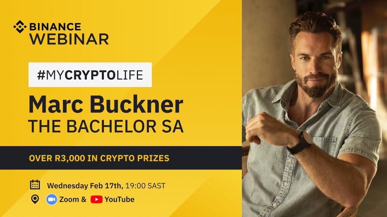 My Crypto Life Webinar (South Africa) – Marc Buckner