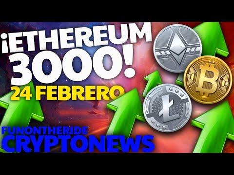 ¡ETHEREUM 3000 $ el 24 Febrero?