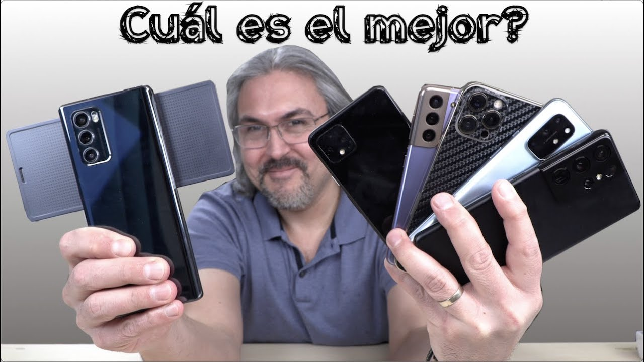 iPhone 12 Pro Max, versus Galaxy S21 Ultra, Galaxy S21, OnePlus 8T, LG WIng y Pixel 4XL