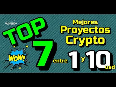 🤑 TOP #7 de los MEJORES CRYPTO entre 1 y 10 usd !!! 🙌🏻