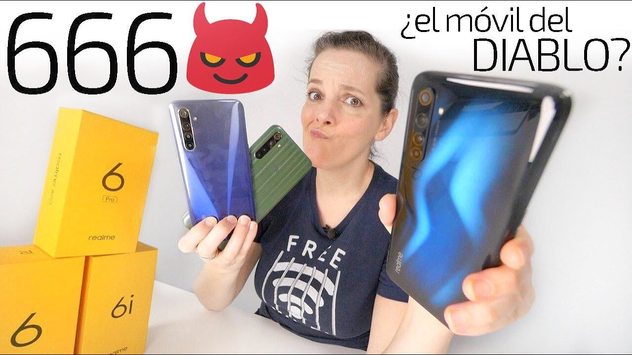 Realme 6 Pro   ¿el móvil del DIABLO?