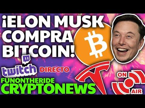 🔴 Directo: Tesla Compra BITCOIN!!!