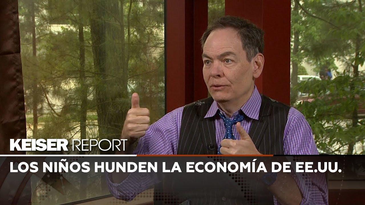 Keiser Report en español: Los niños hunden la economía de EE.UU.