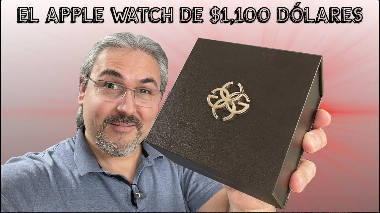 Este es el Apple Watch de $1100 dólares Golden Concept
