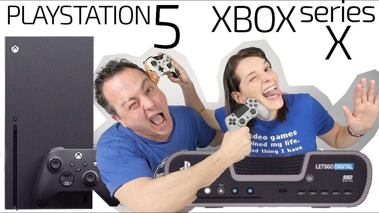 PlayStation 5 vs Xbox Series X -COMPARATIVA potencia velocidad-