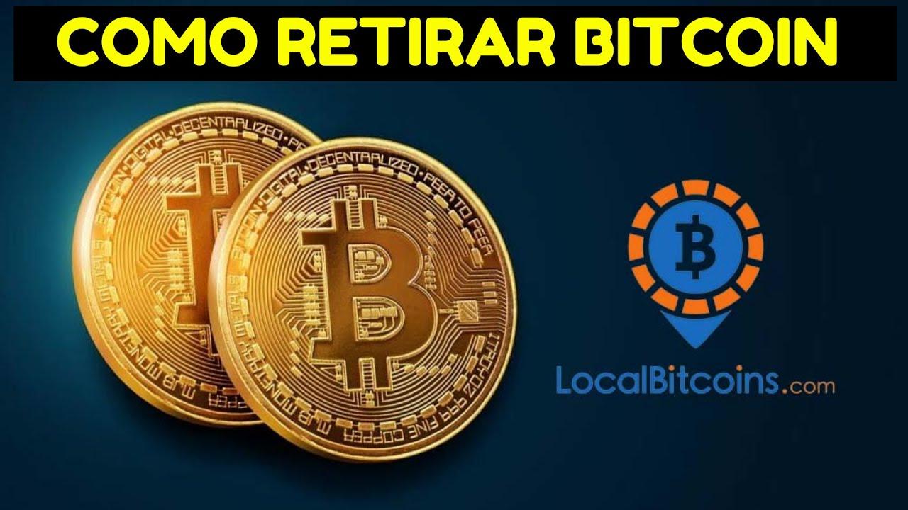 COMO RETIRAR BITCOIN de Localbitcoins 2021 [Invertir en acciones con criptomonedas] Video 1