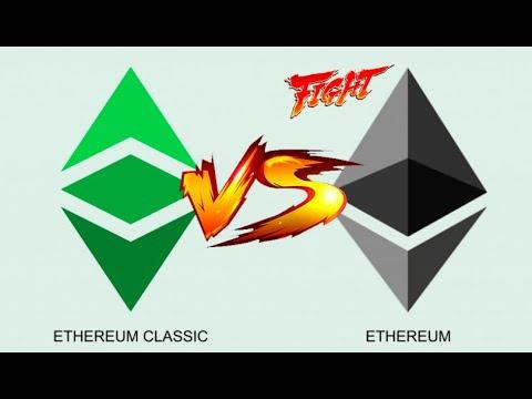 Ethereum 🆚  Ethereum Classic…. Cual es la copia??  (ETH vs ETC) 🥊