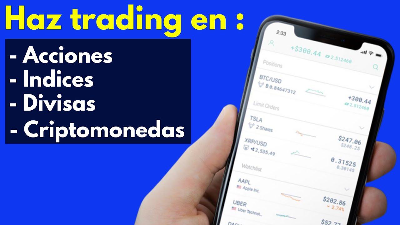 BITCOIN TO THE MOON!! [Donde hacer trading desde el celular] Acciones, Indices, Divisas, Cryptos