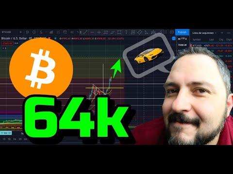 Bitcoin hacia los 64k !!! + 16 Altcoins + 2 Rifas !!