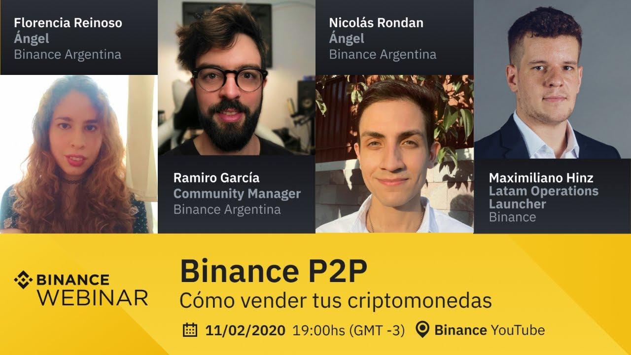 Binance P2P: Como vender tus criptomonedas