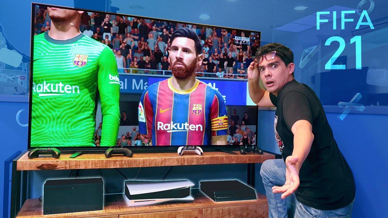 PLAYSTATION 5 o XBOX X → define el FIFA 21 !!!!!!!
