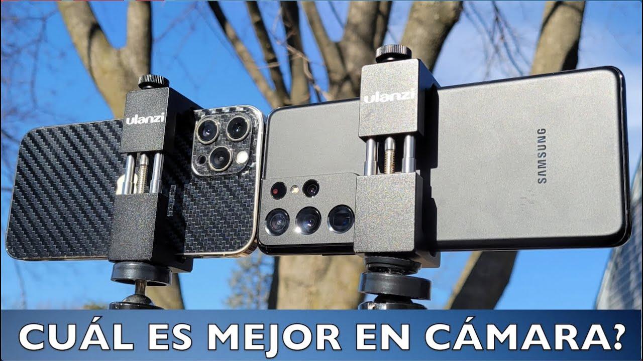 Cuál es la mejor cámara? Galaxy S21 Ultra Vs iPhone 12 pro Max