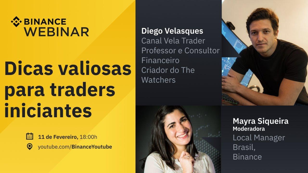 Dicas valiosas para traders iniciantes – Binance Webinar em Português #15