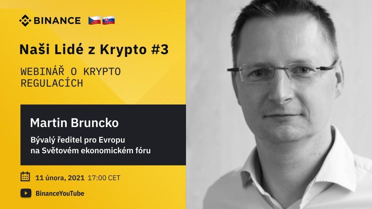 Webinář  s inovátorem a politikem Martinem Bruncko 🇨🇿🇸🇰