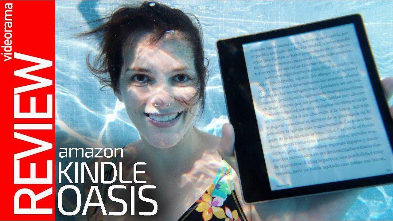 Amazon Kindle Oasis 2019 -lectura SUBMARINA-