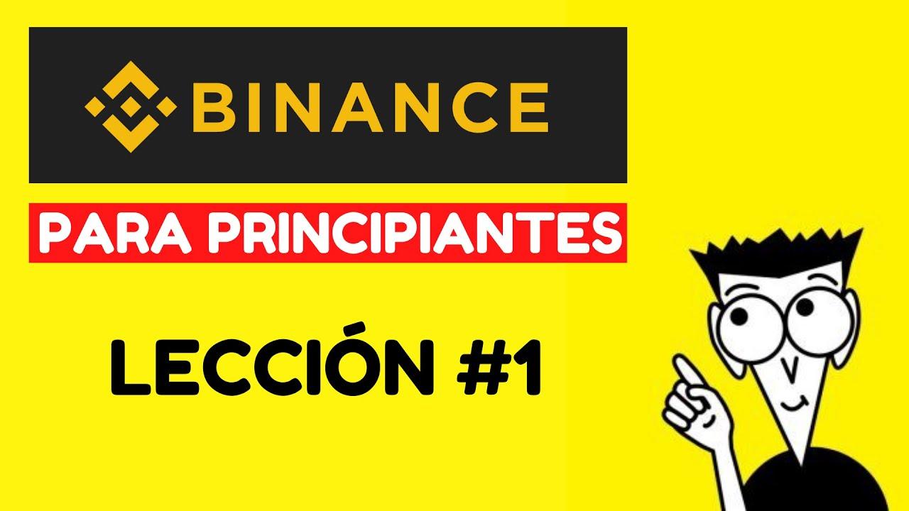 💎 BINANCE PARA PRINCIPIANTES 💎 [Como registrarte en la plataforma Binance] desde movil y computador