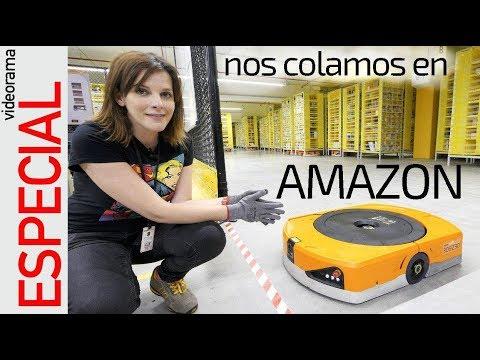 Nos colamos en el almacén ROBOTIZADO de Amazon