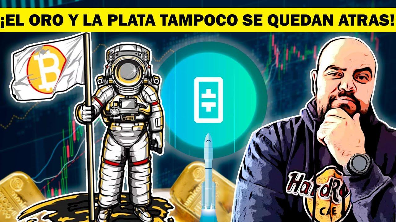 ¡INCREIBLE SUBIDA EXPLOSIVA DE BITCOIN Y THETA MIENTRAS EL DOLAR SE HUNDE – DAVID BATTAGLIA!