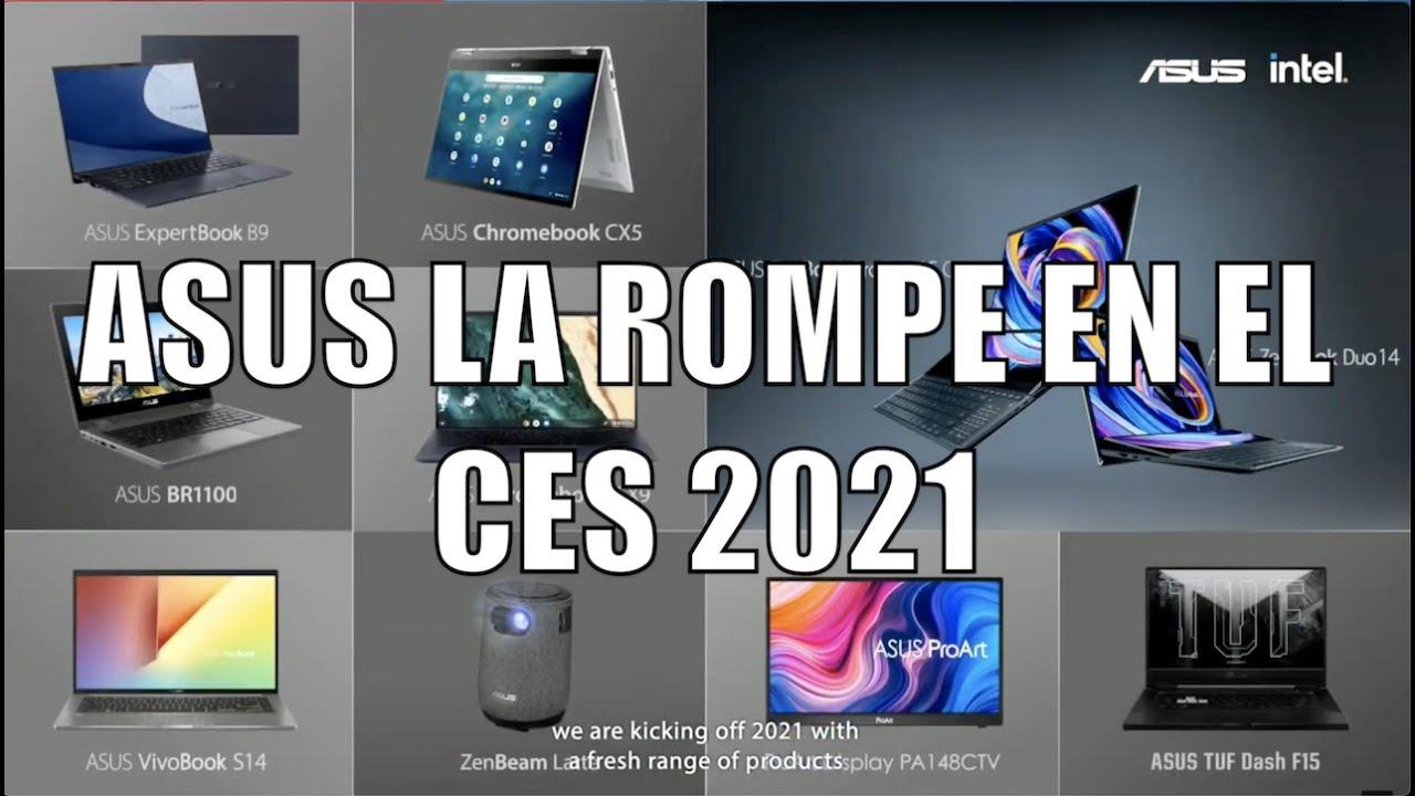 ASUS LA ROMPE CON SUS NUEVAS LAPTOPS EN EL #CES2021