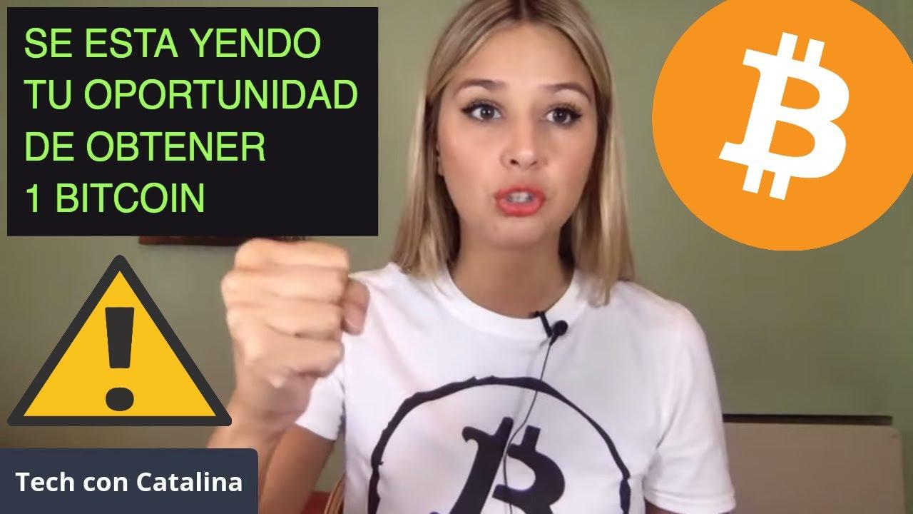 SE ESTA YENDO TU OPORTUNIDAD DE OBTENER 1 BITCOIN!!!!!!!!!! [noticias + educación..]