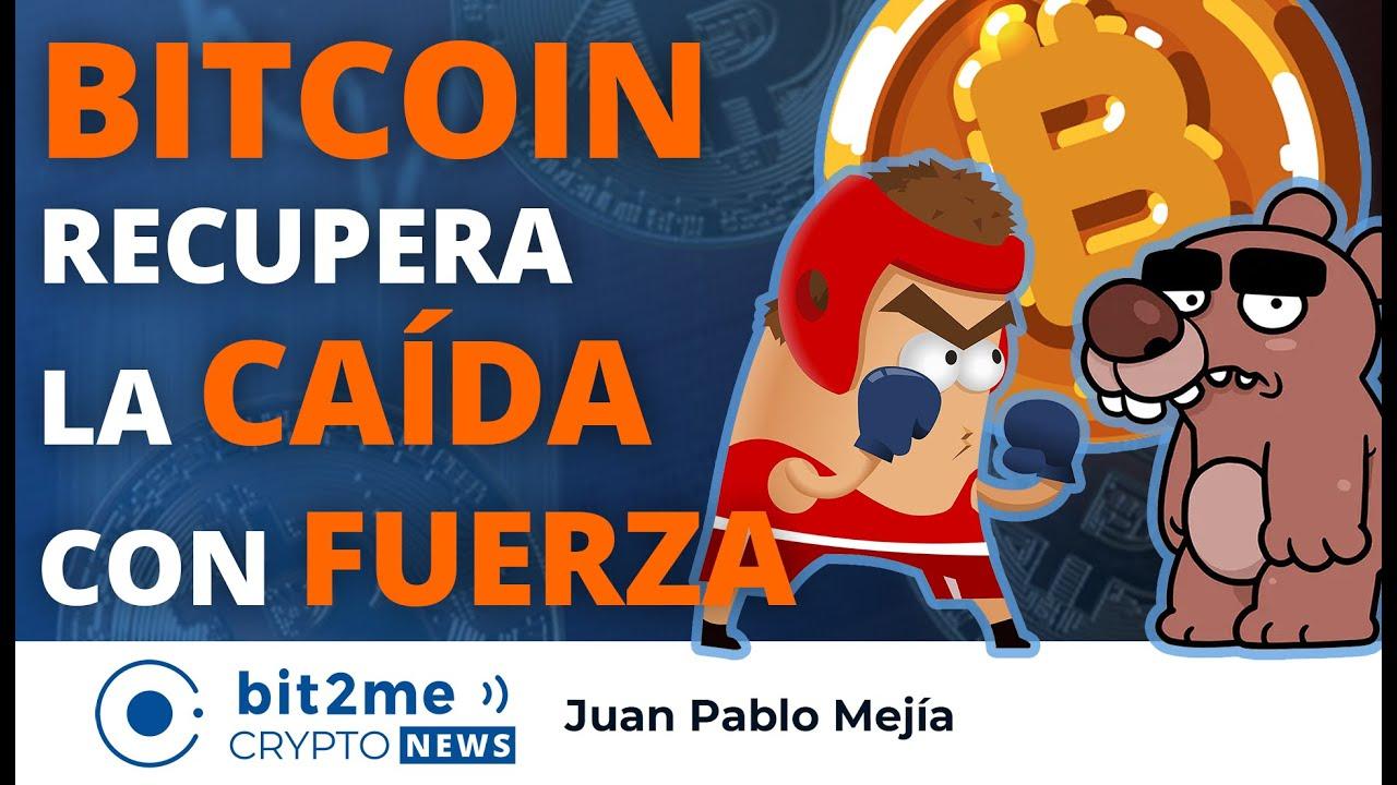🔵 🥊 BITCOIN recupera la CAÍDA con FUERZA – Bit2Me Crypto News