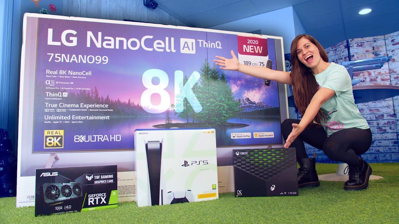 TV para PLAYSTATION 5 → NO TE EQUIVOQUES!!!!!!! [nuevo gran TV 8K Gaming]