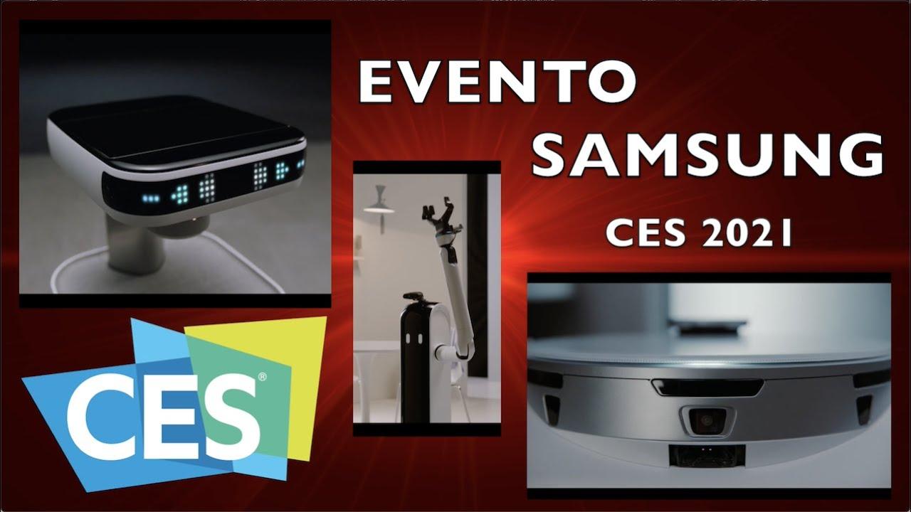 Samsung CES 2021 MUCHO MÁS QUE TELEVISORES RESUMEN