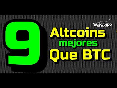 """Estas """"9 Monedas"""" son MEJORES 💪🏻 que BITCOIN 🤬🤯!!!"""