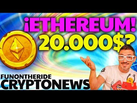 ¿1 ETHEREUM = 20.000$?  BITCOIN ¡SEÑAL DE VENTA?