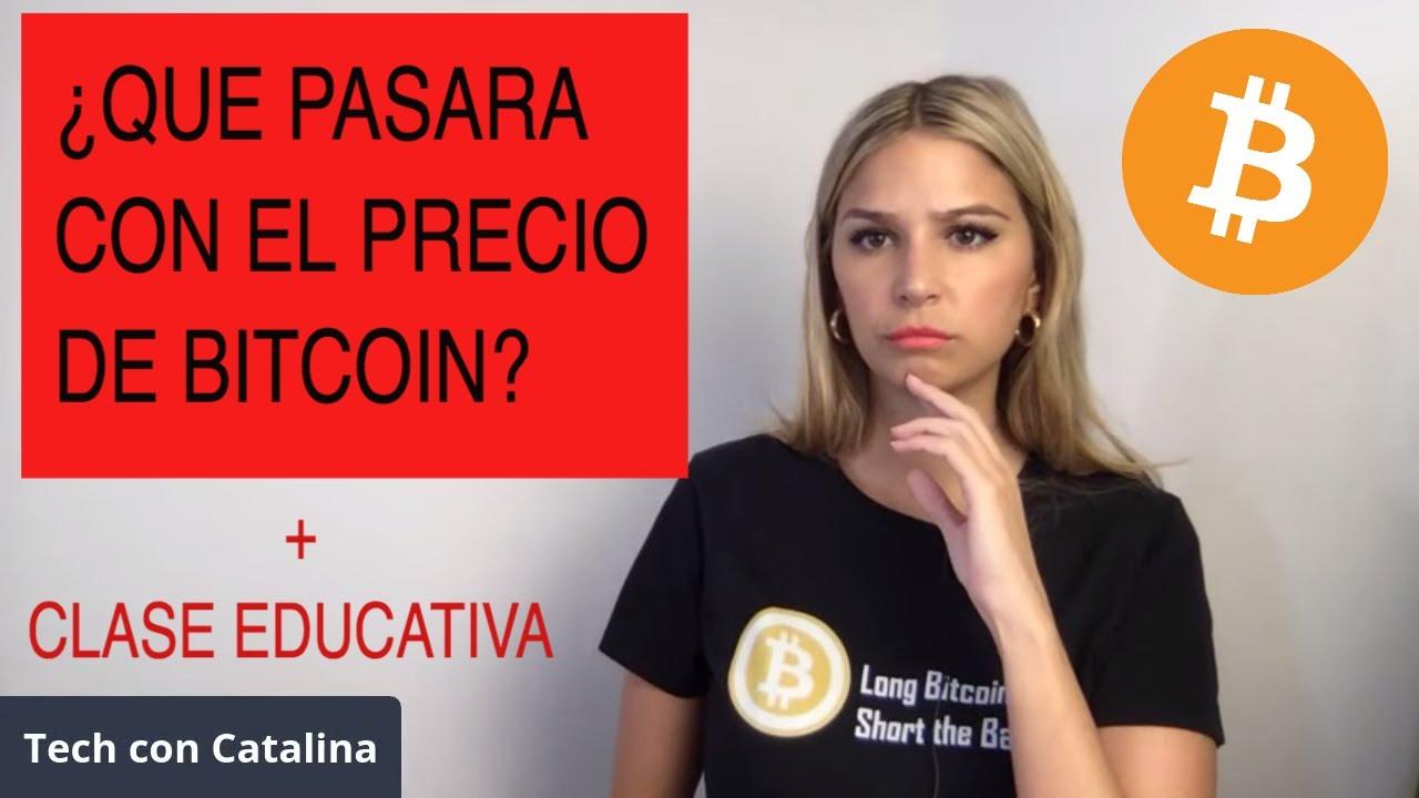 ¿QUE PASARA CON EL PRECIO DE BITCOIN?!!!!!!!!!!!! [clase educativa..]