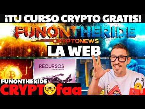 ¡CURSO GRATIS CRIPTOMONEDAS BITCOIN de FUNONTHERIDE!