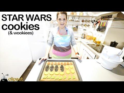 Star Wars cookies (& wookiees) galletas Star Wars en español